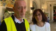 Deux gilets jaunes se marient après s'être rencontrés lors d'une manifestation à un péage