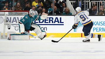 NHL playoffs 2019: Vladimir Tarasenko scores Blues first-ever postseason penalty shot