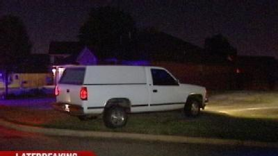 High-Speed Chase Ends In Yard