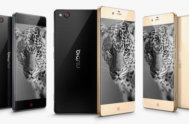 Nubia's near bezel-less phone also has a grip-sensitive frame