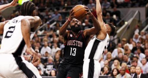 Basket - NBA - Les San Antonio Spurs humiliés pour leur premier match à domicile face aux Houston Rockets