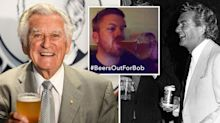 'Beers out for Bob': Aussies pay tribute to the nation's larrikin PM
