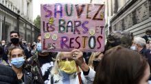"""Covid-19 : à Lille, les professions indépendantes """"en train de mourir"""" manifestent"""