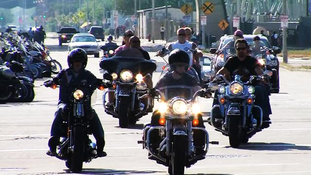 Harley-Davidson's 110th anniversary celebration is roaring in Milwaukee