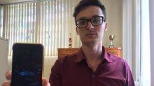 Estudante cria aplicativo capaz de ler notas para cegos