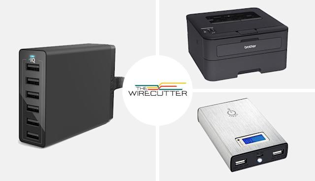 The Wirecutter's best deals: a 6-port charger, battery pack and more