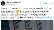 Trump supporters riled up after 'The Good Fight' tweets 'target words' list including 'assassinate,' 'president'