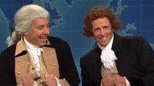 Jimmy Fallon and Seth Meyers defend Founding Fathers from Trump's comments