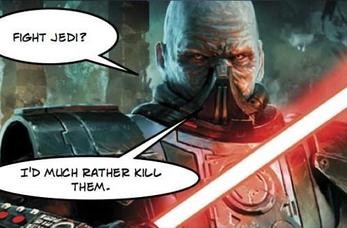 Star Wars: The Old Republic gets three new characters ... one gets his own book