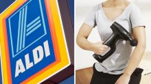 Aldi fitness Special Buys see return of bargain massage gun