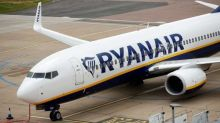 RAF Typhoons scrambled as two men removed from Ryanair plane at Stansted Airport after 'suspicious objects' found