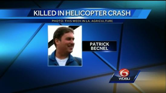 Pilot identified in fatal helicopter crash near Venice, La.