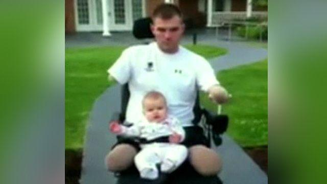 Quadruple amputee's road to recovery after Afghan blast