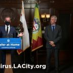 Garcetti recommends Angelenos wear non-medical masks in public