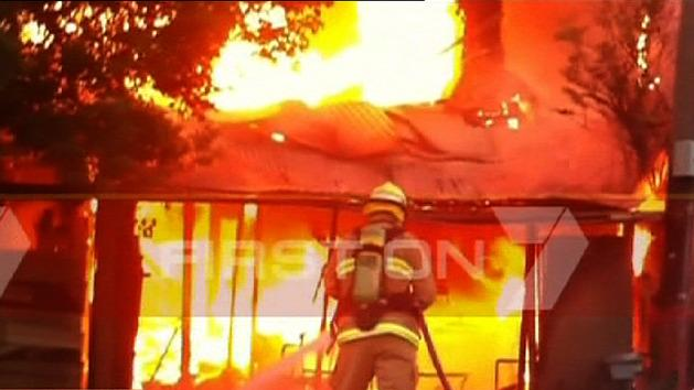 Fire destroys Sydney home