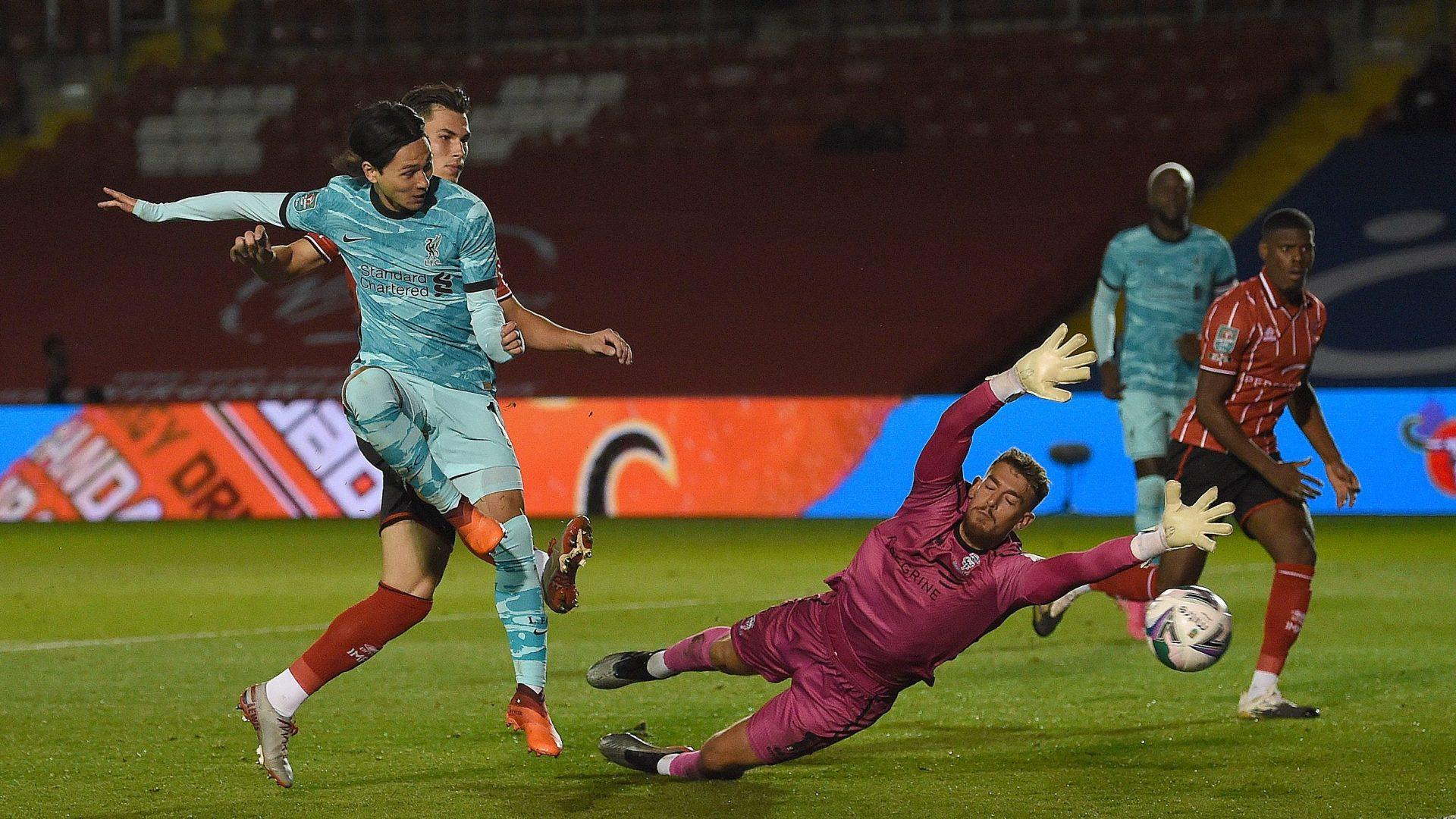 League Cup Liverpool Win 7 2 Man City Survive And Advance