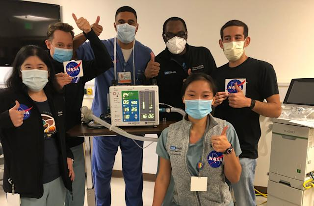 Eight US companies will manufacture NASA's COVID-19 ventilator