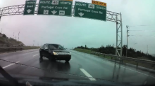 Driver Narrowly Avoids Collision on Newfoundland Highway