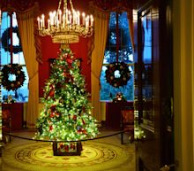 Faith, the military and JFK: Hidden messages in Melania's White House Christmas decorations