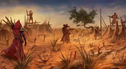 Watch the sped-up creation of Das Tal concept art
