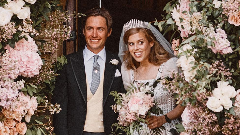 Princess Beatrice Stuns In Vintage Wedding Dress