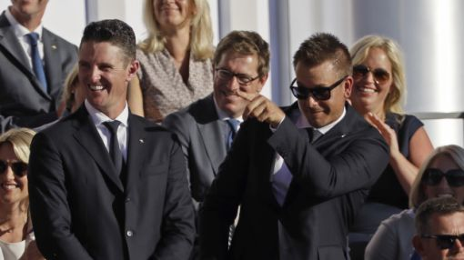 Stenson and Rose to lead Europe into the Ryder Cup as opening foursomes are revealed