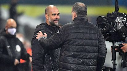 Pep Guardiola 'overwhelmed' by 'magical man' tribute from Marcelo Bielsa