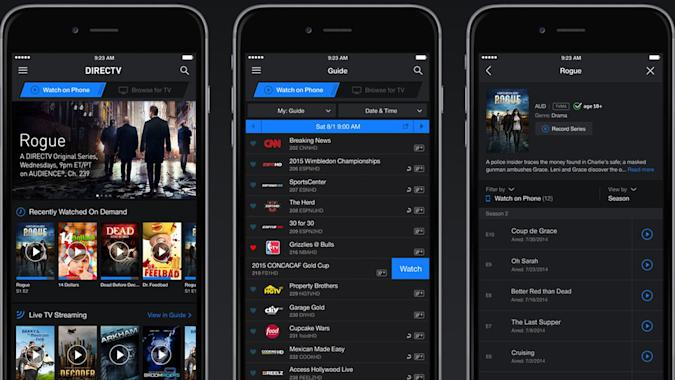 DirecTV now streams many more channels on your phone