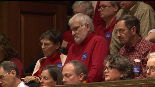 Vote Delayed On Indiana Gay Marriage Bill