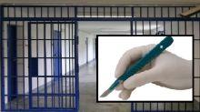 In carcere con un bisturi infilato nelle parti intime: denunciata