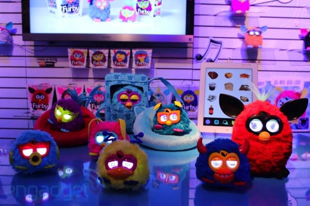 Hasbro's Toy Fair 2013 booth tour: Transformers, Furby rockers, Iron Man and more