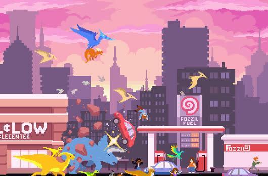 Extinction escape sim Dino Run 2 announced for PC, mobile