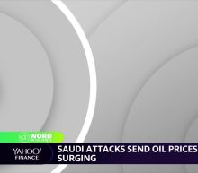 Oil prices surge after Saudi attacks