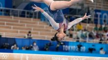 Perfectly Impossible; Gymnasts wrestle with the imperfect