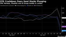 IG, Plus500 Plunge as EU Watchdog Signals Derivatives Crackdown