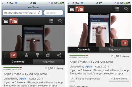 YouTube testing new mobile layout