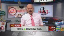 Cramer: Post Holdings' portfolio gives stock 'room to run...