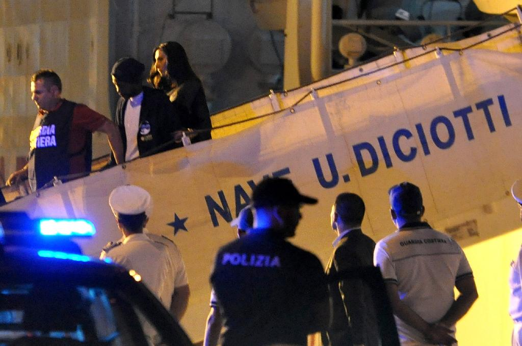 Italy will accept migrants rescued at sea until a wider EU strategy to manage the problem is agreed (AFP Photo/Alessandro FUCARINI)