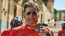 Miguel Induráin realiza su particular Madrid-Segovia MTB