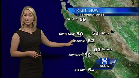 Watch your Sunday KSBW weather forecast 05.18.14