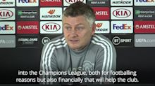 Solskjaer: Manchester United will suffer not being in Champions League