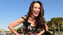 Andie MacDowell returns to catwalk aged 60 alongside new mums Eva Longoria and Cheryl