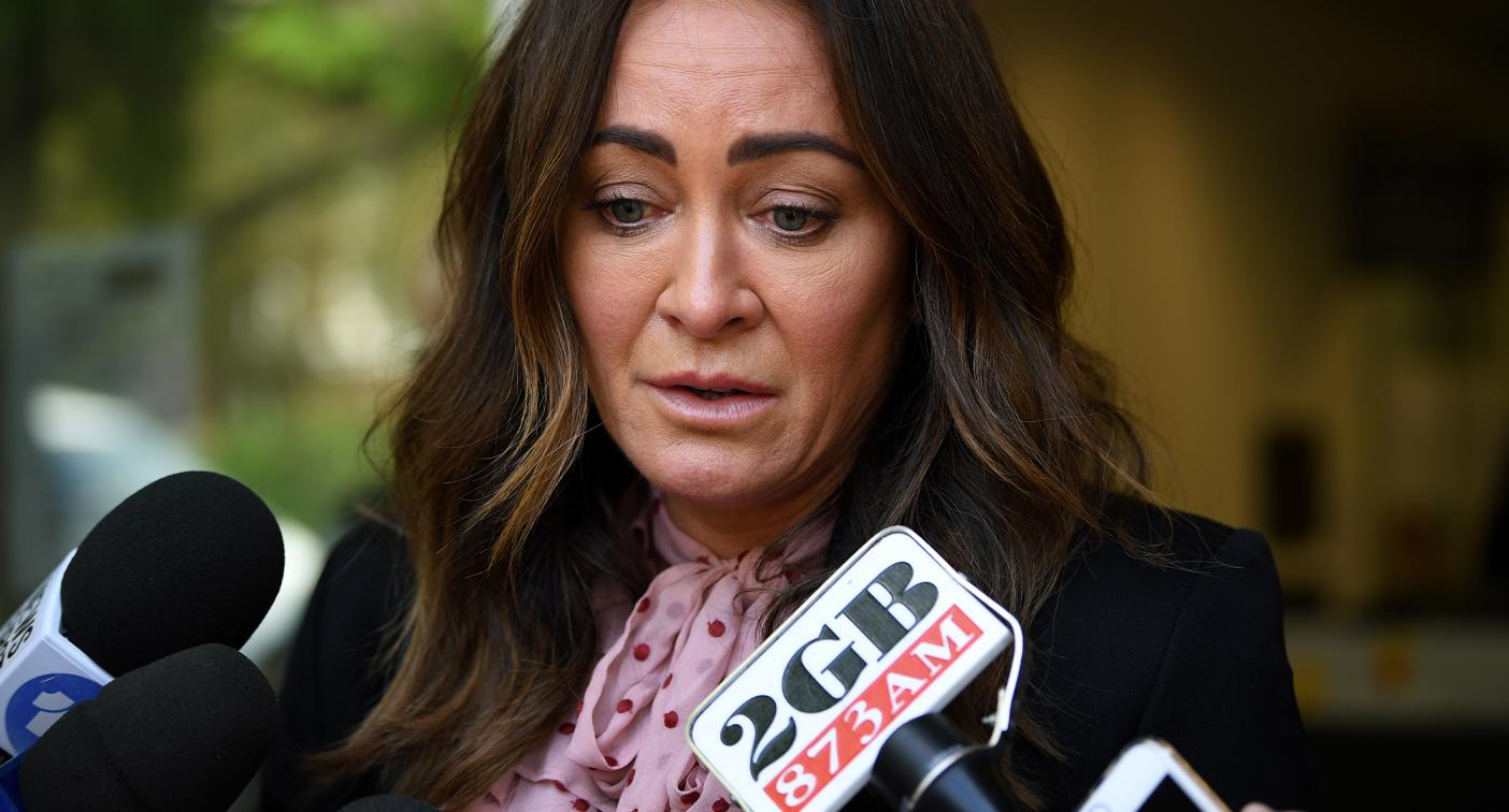 Crying Michelle Bridges apologises to family after drink-driving conviction