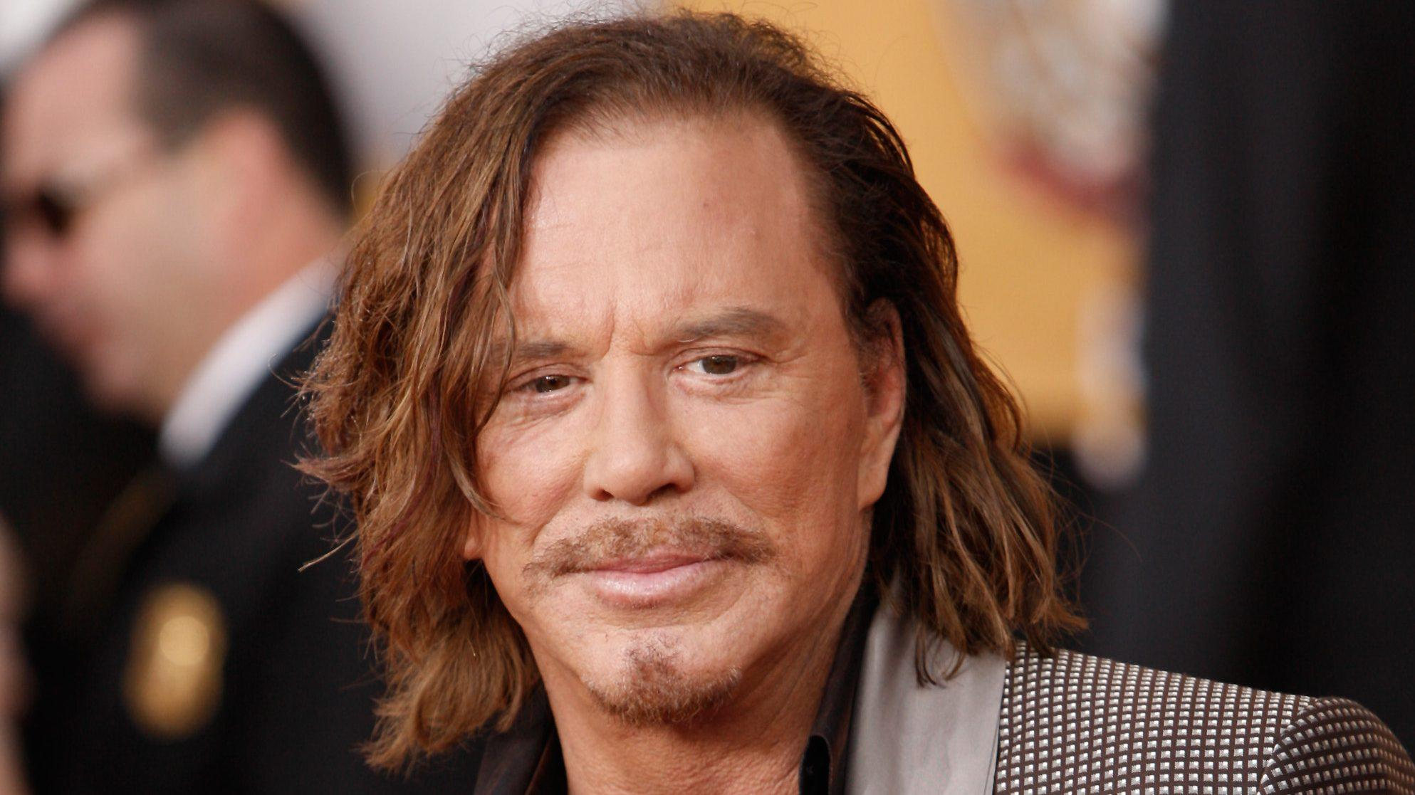 Mickey Rourke Enlists For 'The Commando'