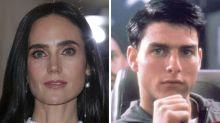 Jennifer Connelly On Tarmac For 'Top Gun 2: Maverick'