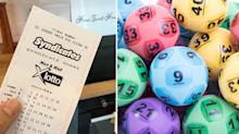 'Completely stunned': Man's surprising Lotto phone call while at work