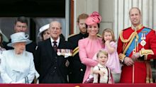 Prince George and Princess Charlotte make cute appearance at Trooping the Colour