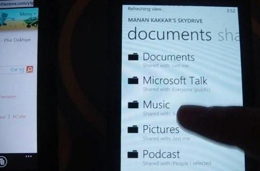 Mango quietly enables music streaming from SkyDrive, hides amongst your spreadsheets