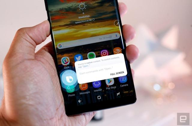 Samsung will let you remap the Bixby button on older phones too