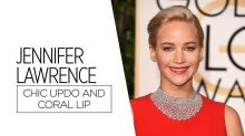 Re-create Jennifer Lawrence's Golden Globes Beauty Look for Under $30 [Video]